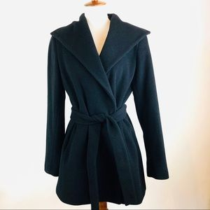 Calvin Klein short belted jacket 10P